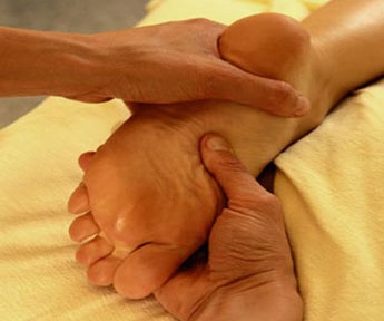 dating foot massage
